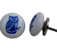 Ceramic fauna knobs (pattern)