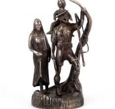 Bronze english statues