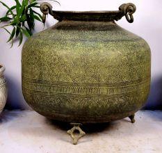 Bronze Planter-17.5 X 22 Inches