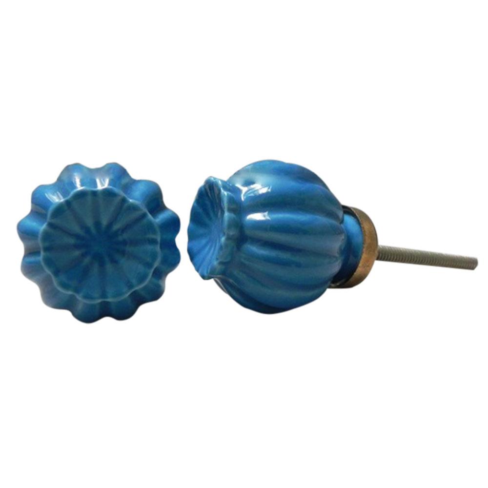 Sky Blue Umbrella Knob