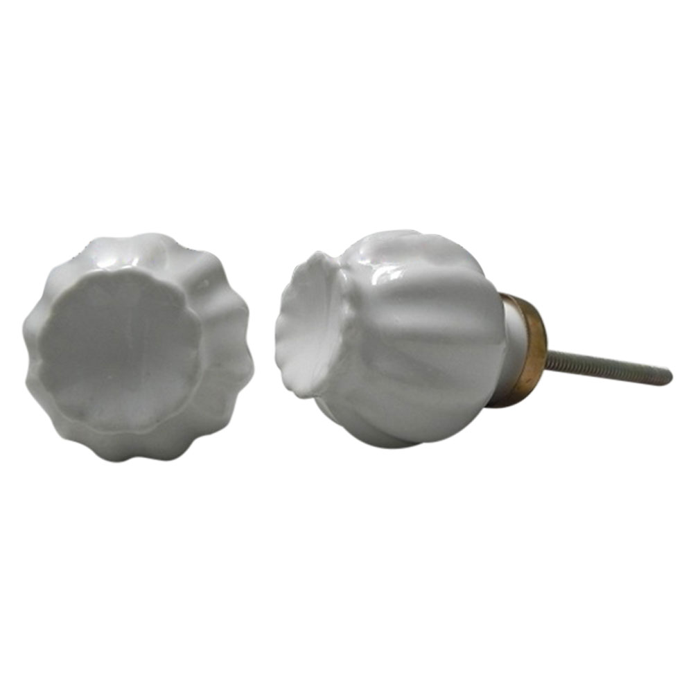 White Umbrella Knob