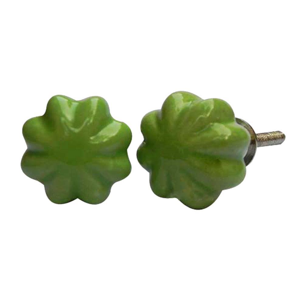 Green Pomegranate Bud Knob