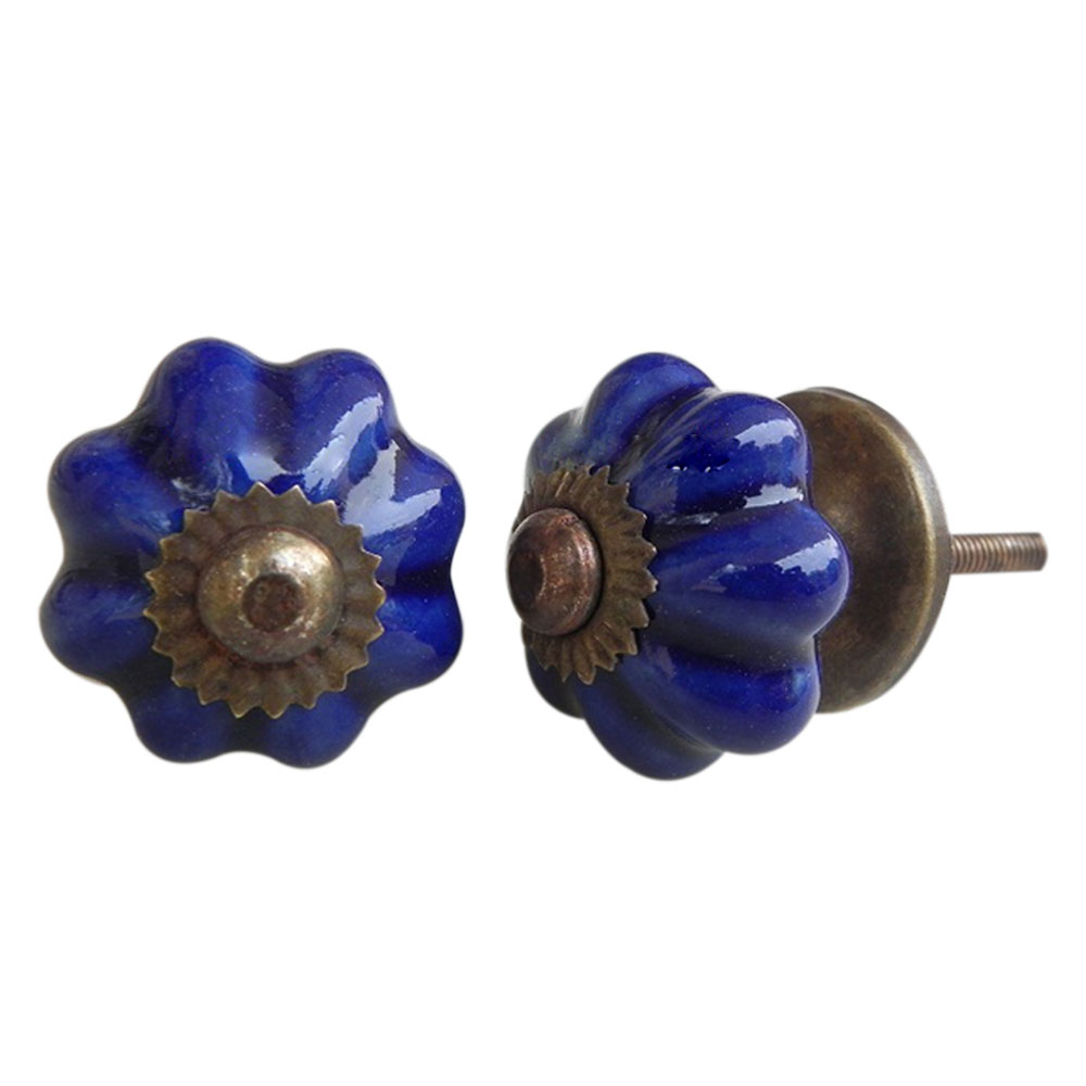 Navy Blue Knob Small