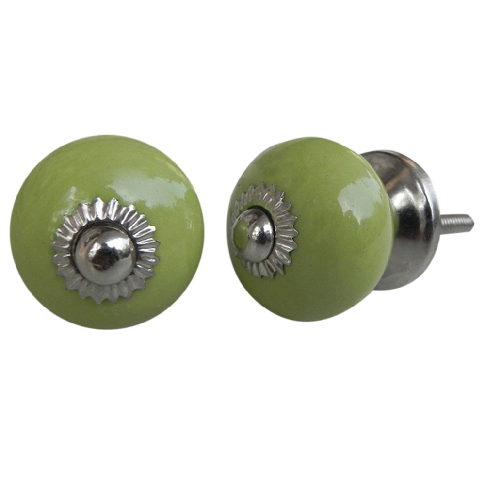 Lime Green Knob Small