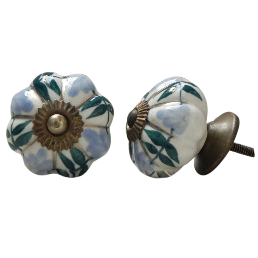 Grapes Ceramic Knob