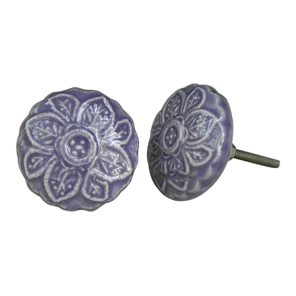 Purple Violet Knob