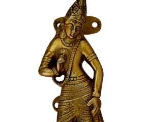 Laxmi Golden Brass Handle 5.25