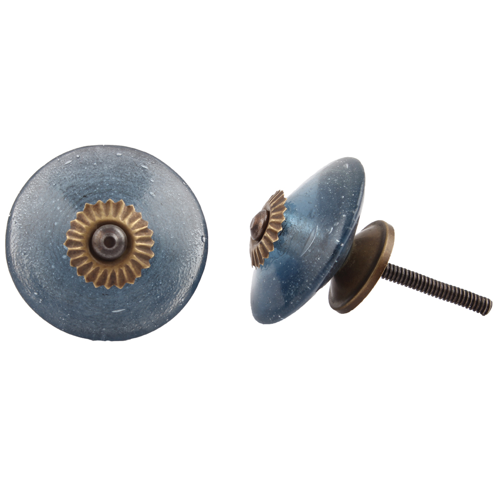 Dodger Blue Wheel Knob
