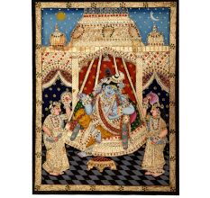 Krishna In The Swing
