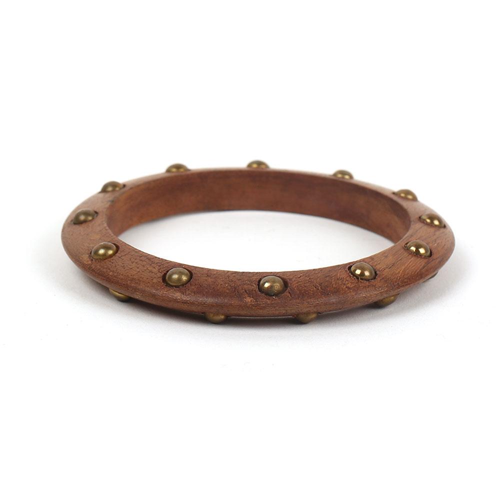 wooden wheel bangle