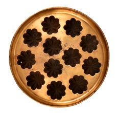 Bronze Flower Appe�12 Cavity Circular Mould