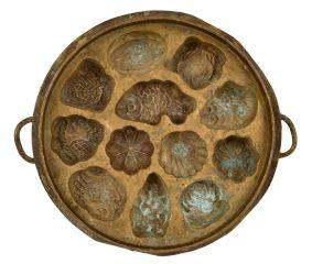 Bronze Vintage Mixed Design Appe Mould