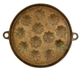 Bronze Sunflower Circular Appe Mould