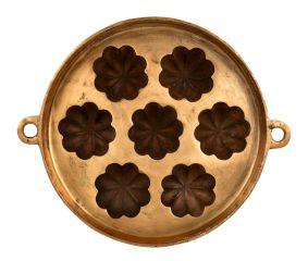 Big Sunflower Bronze Circular 7 Cavity Appe Mould