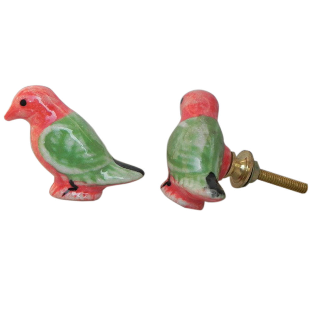Macaw Bird Cabinet Knob