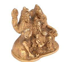 Brass Shiv Pariwar Statue