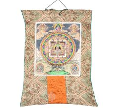 Abhay Mudra - Buddha Mandala Thangka