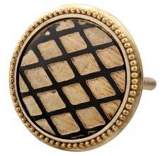 Golden Brass Cut Cabinet Knobs Online