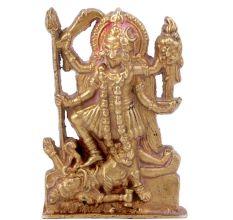 Hindu Goddess Kali Maa Brass Statue
