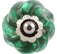 Mint Interior Cut Glass Dresser Knob Online