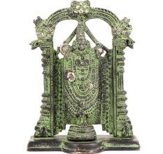 Lord Tirupati Balaji Brass Venkateshwara Idol Statue