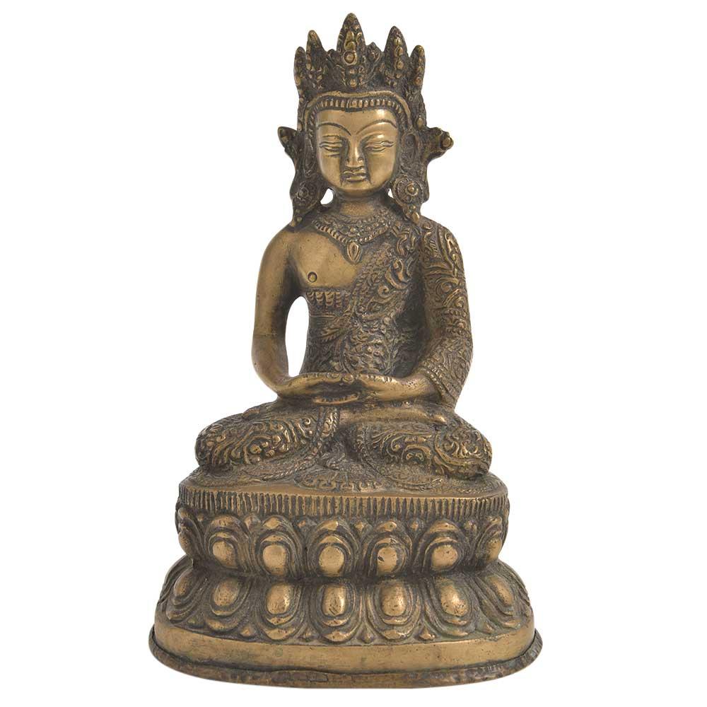 Bronze Tibetan Buddha Statue