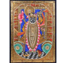 Shrinathji Tanjore Paintings In Frame