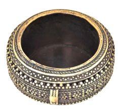Bronze Circular Bronze Ashtray