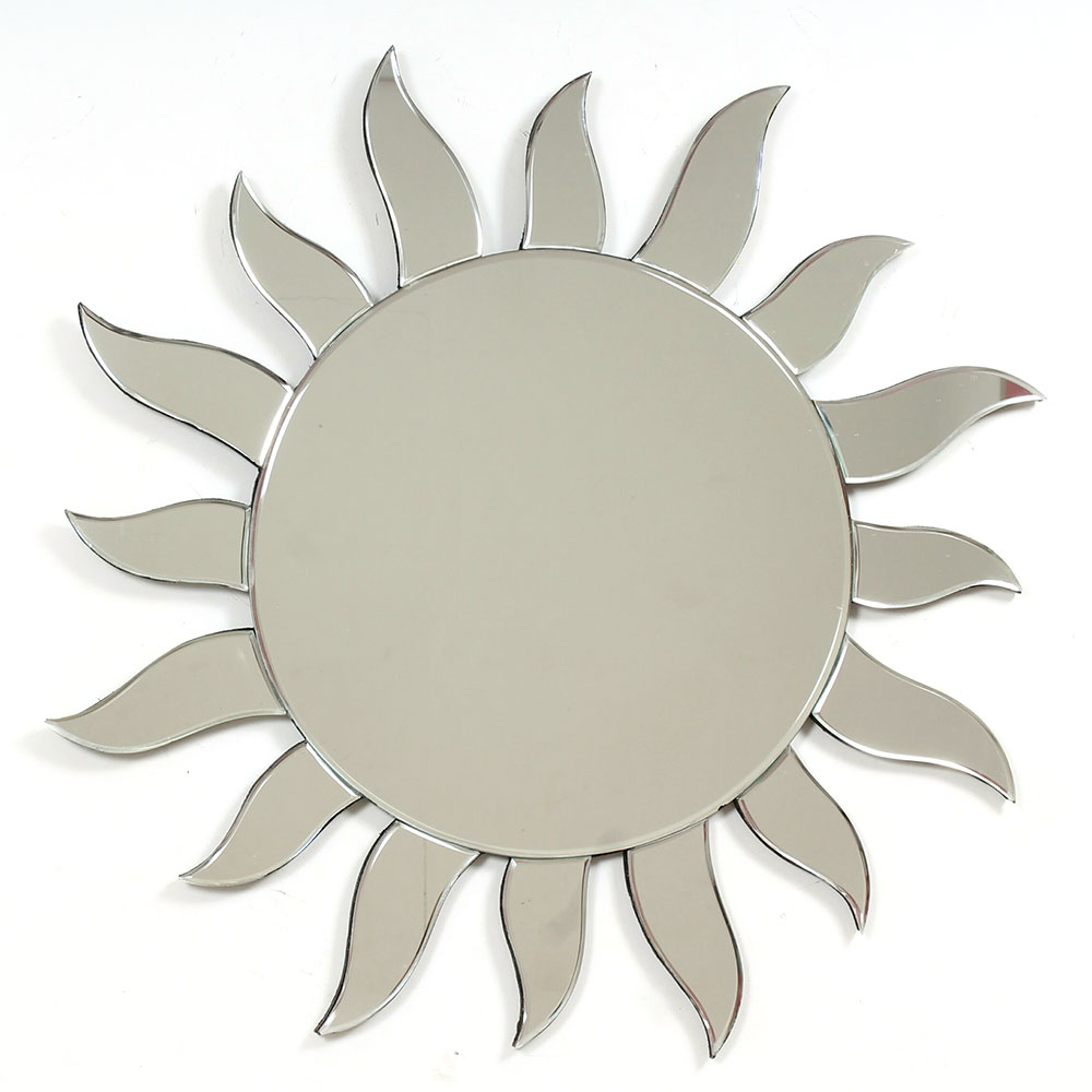 Sun Shape Venetian Wall Mirror