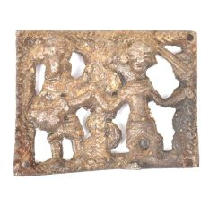 Brass Tribal Styled Music Group Wall Hanging