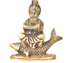 Brass Idol Of Jhule Lal