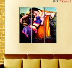 Romantic Premium Quality Canvas Wall Hanging