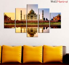 Taj Mahal Premium Quality Canvas Wall Hanging