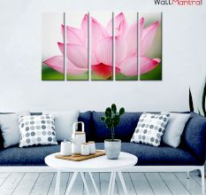Lotus Premium Quality Canvas Wall Hanging