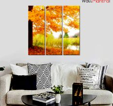 Autumn Scenery Premium Quality Canvas Wall Hanging