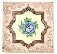 Blue Rose Ceramic Tile