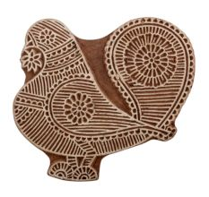 Set of 1 Piece New Wooden Printing Blocks
