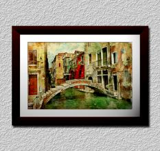 Painted Venice City Wall Painting