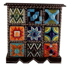 Spice Box-803 Masala Rack Container Gift Items