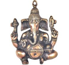 Brass Ganesha Wall Hanging Home Decor