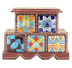 Spice Box-881 Masala Rack Container Gift Items