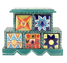 Spice Box-882 Masala Rack Container Gift Items