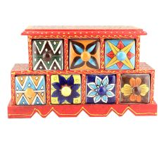 Spice Box-884 Masala Rack Container Gift Items