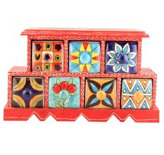 Spice Box-886 Masala Rack Container Gift Items
