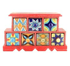 Spice Box-887 Masala Rack Container Gift Items