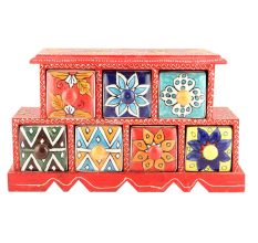 Spice Box-891 Masala Rack Container Gift Items