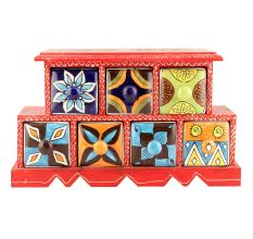 Spice Box-892 Masala Rack Container Gift Items