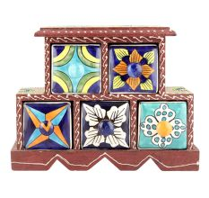 Spice Box-907 Masala Rack Container Gift Items