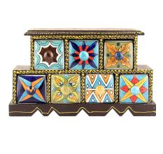 Spice Box-908 Masala Rack Container Gift Items