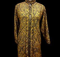 Designer Collection Jackets Sami Pashmina Fabric In Brown